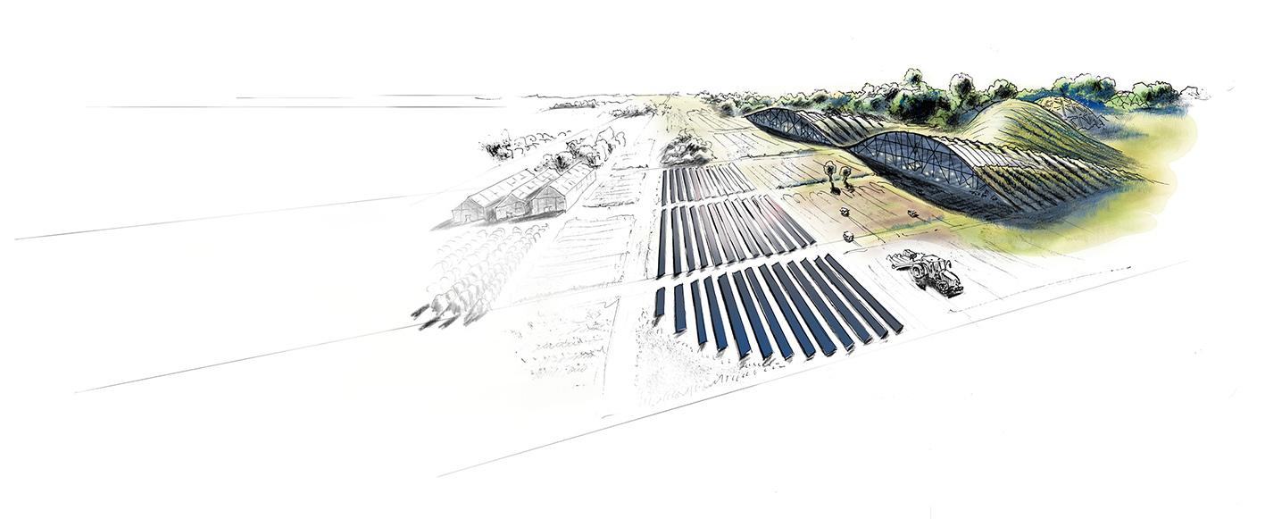 Illustration-zu-Landwirtschaft-Technik-Zukunft-Wirtschaften